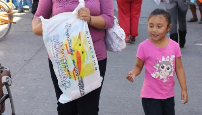 Programa alimentario del DIF de Soledad beneficia a más de 2,700 escolares.