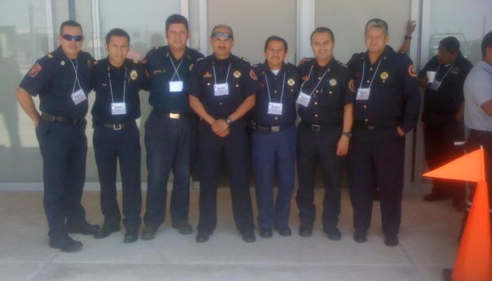 Jefes de Bomberos de 5 estados son capacitados por el Gobierno Norteamericano en SLP