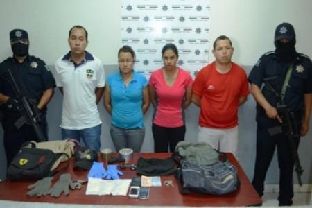 Frustran Policías Municipales secuestro de una persona en la Colonia Morales