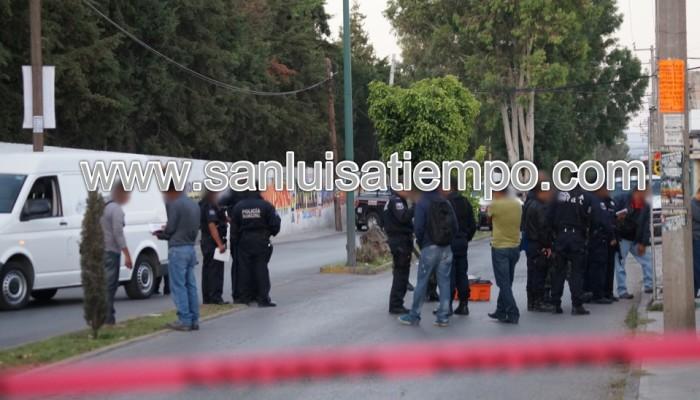 Asesinan a balazos a una persona en la Avenida Morales – Saucito
