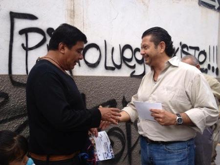 Octavio Pedroza recorrerá calles para presentar su primer informe