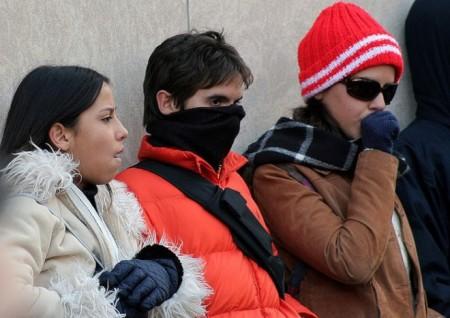 Pronostican heladas matutinas y ambiente muy frío en San Luis Potosí