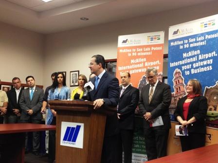 Ofrecerá Aeromar vuelos de McAllen a San Luis Potosí