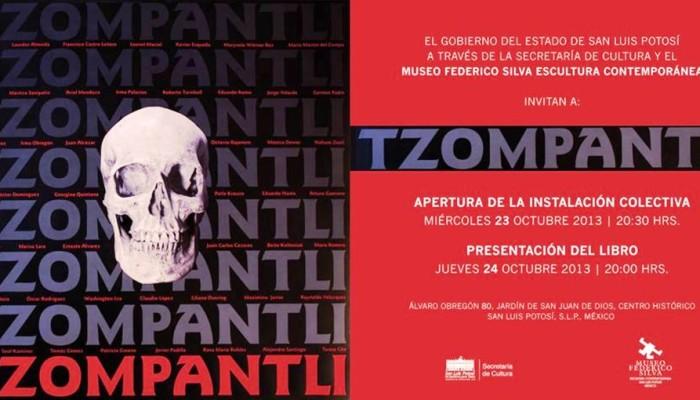 """Conmemorarán Día de Muertos con la instalación de """"Tzompantli"""""""