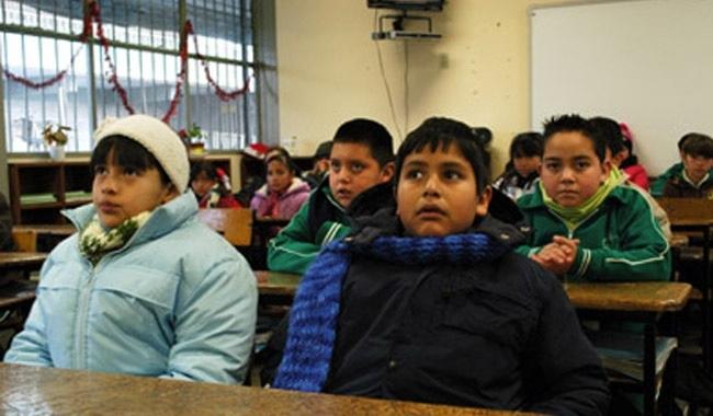 Anuncian medidas invernales para escuelas