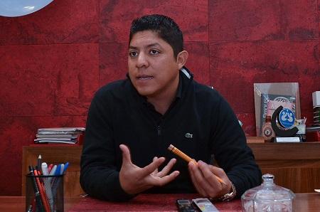 Ricardo Gallardo Cardona, se perfila como candidato a diputado federal por el Distrito 02