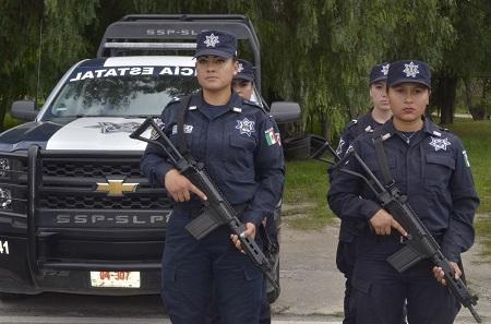 Recibieron Bono de Riesgo 2 mil 600 policías estatales