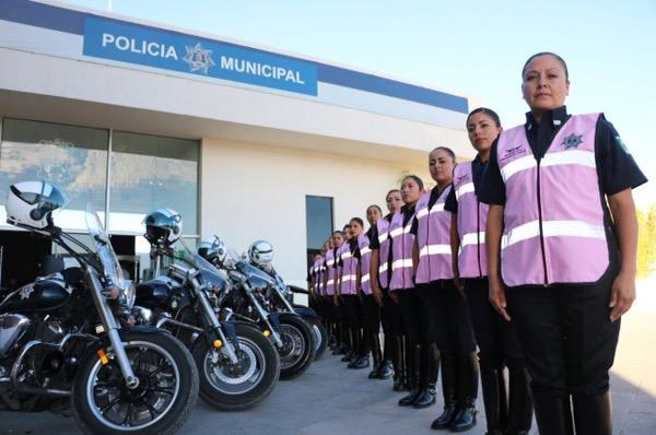 La DGSPM crea el agrupamiento Femenil de Motociclistas