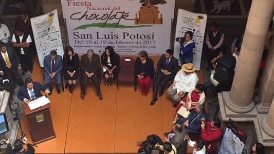 Disfruta San Luis Potosí de la Fiesta Nacional del Chocolate
