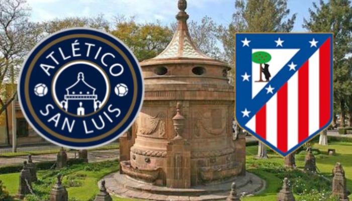 Directivos del Atlético San Luis, viajaron a cerrar trato con el Atlético de Madrid