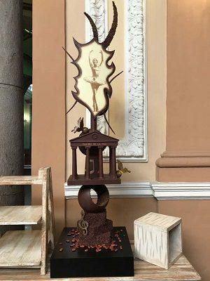 Gran respuesta obtuvo el concurso de esculturas de la Fiesta Nacional del Chocolate