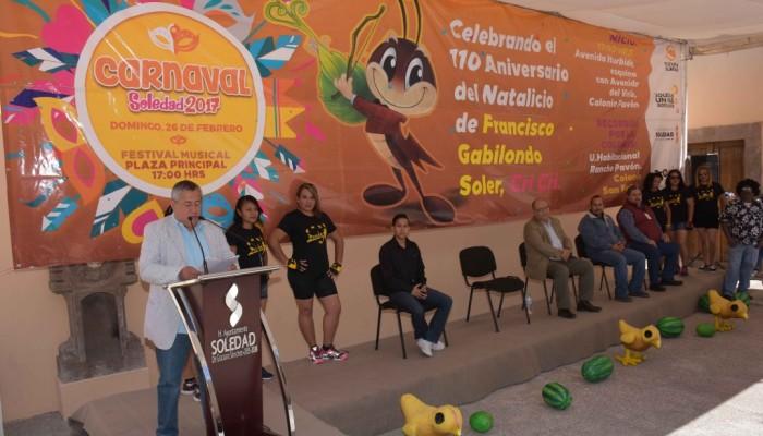 Carnaval 2017 de Soledad, será dedicado a Cri Cri