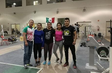 Halteristas potosinos, realizan campamento de concentración en Monterrey