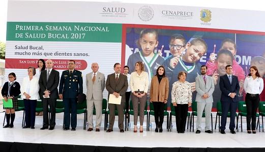 Busca Primera Semana Nacional de Salud Bucal, 210 mil acciones