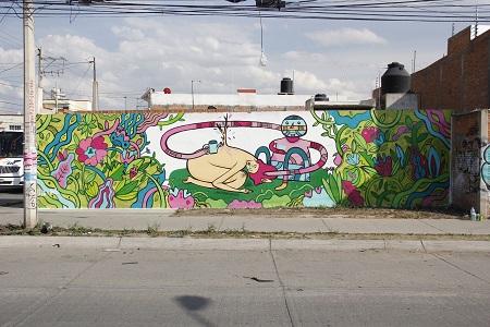 Artista francés imparte talleres de street art en el CEART