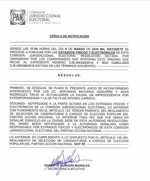 Ratifica CEN del PAN a Gómez Faisal como dirigente en Ciudad Valles