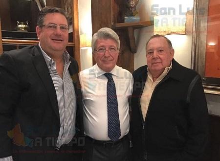 Firme el proyecto del Atlético de Madrid con el Atlético San Luis