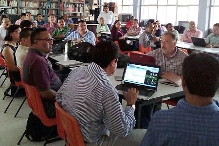 Directivos de Cobach reciben curso para evaluarse de acuerdo al Servicio Profesional Docente