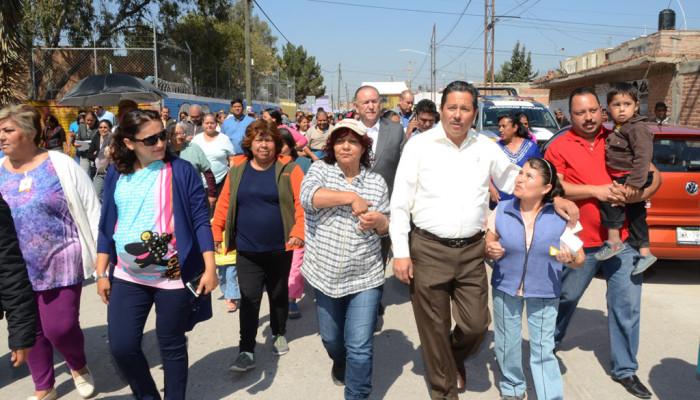 Ricardo Gallardo refrendó su compromiso con la Colonia Las Julias