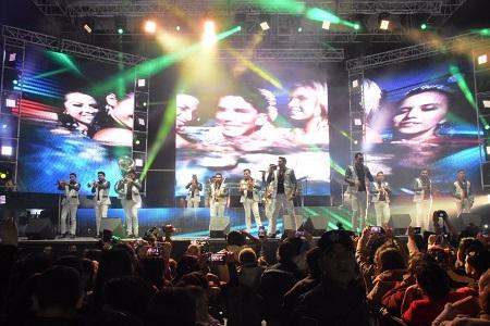 Rotundo éxito de Los Recoditos en la FENAE 2017