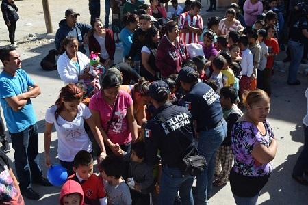"""Policía Municipal emprende el programa """"Semana de seguridad en tu colonia"""""""