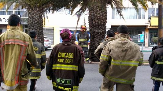 La mitad de los Bomberos, sin traje adecuado para atender incendios