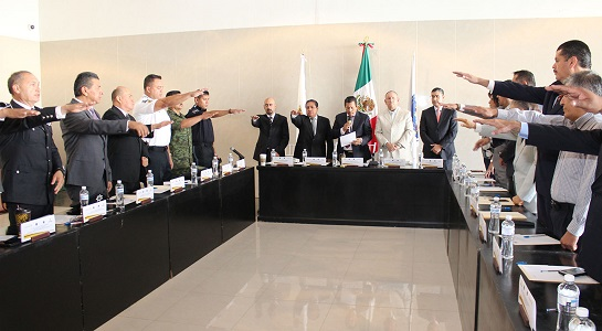 El alcalde Ricardo Gallardo, instaló el Consejo Intermunicipal de Seguridad