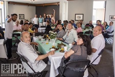 El Instituto Potosino de Bellas Artes festeja a sus maestros
