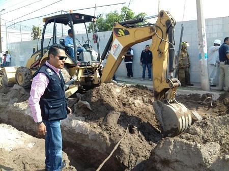 Protección Civil de Soledad atendió fuga de gas natural