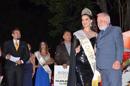 Sofía Durán fue coronada como Reina del Festival de La Cantera 2017