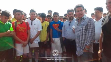 Miles acuden a las visorías del Atlético de San Luis