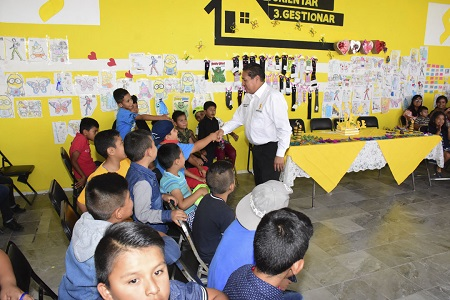 Clausuró el alcalde de Soledad, los campamentos de verano 2017