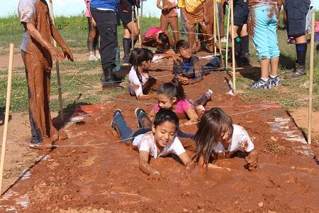 Asistentes a campamentos de verano del Inpode, siguen disfrutando las actividades
