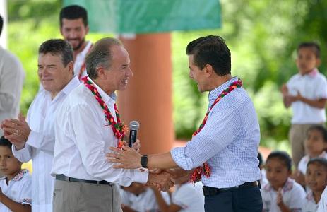 Firme el proyecto carretero Valles-Tamazunchale: EPN
