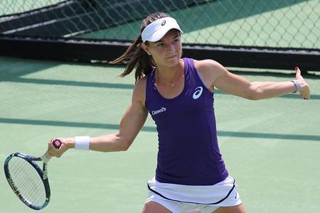 Marcela Zacarías logró entrar a la semifinal del 25000 en Texas