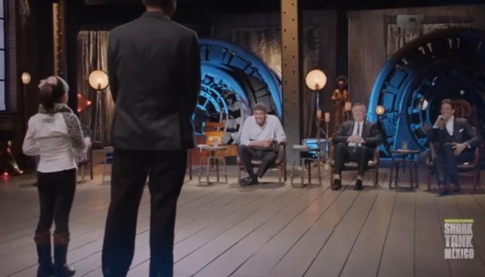 Niña potosina impacta a empresarios de Shark Tank y los hace sus socios