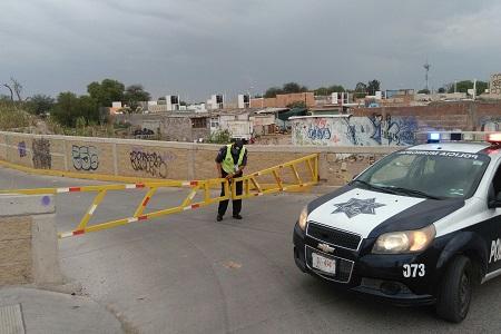 Comienza cierre del carril norte del Río Santiago, para obras complementarias