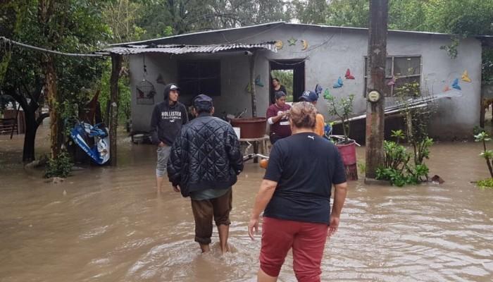 ¡Alerta en la Huasteca! Dos muertos por inundaciones y desborde de ríos.  [Fotos]