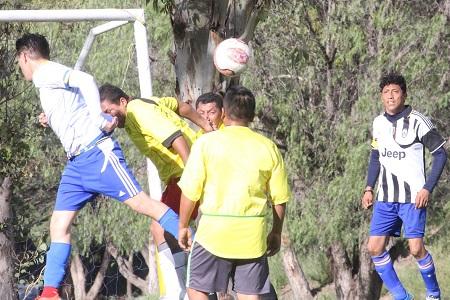 Deportivo Pozos regresa a la senda triunfal, en Veteranos de la Liga Central