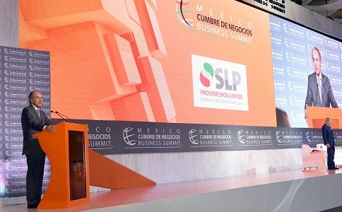 """SLP en el panorama global, con la 15a edición de """"México, Cumbre de Negocios"""""""