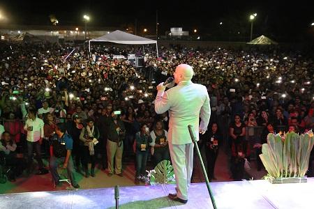 Con rotundo éxito culminó la Feria Regional de Pozos, con la presentación de Lupillo Rivera