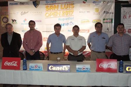 Lanzan convocatoria para el San Luis Open 2017 de Racquetbol presentado por Canel´s