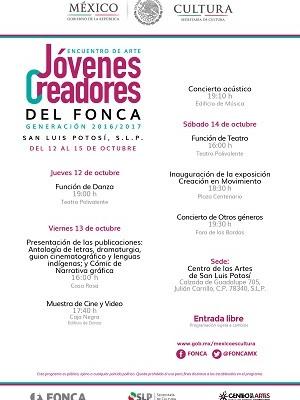 CEART presentará funciones de teatro y danza gratuitas en el encuentro del FONCA