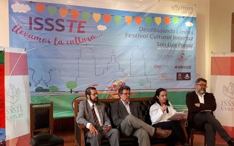 SLP, sede del Festival Cultural Interfaz del ISSSTE