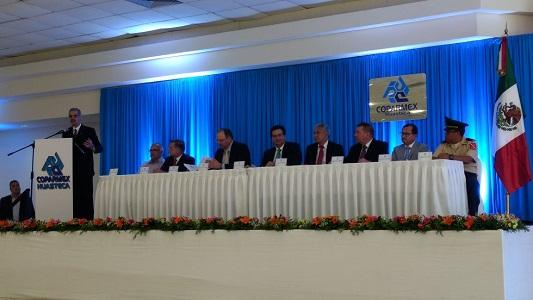 Rinde protesta la nueva Directiva de la delegación Coparmex Huasteca