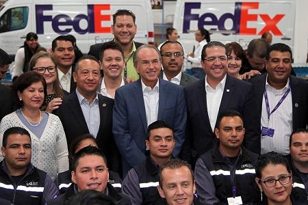 SLP, 5° mejor lugar del país para hacer negocios: FedEx
