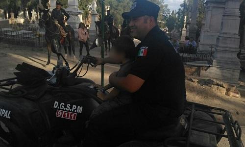 Saldo blanco en operativo de Día de Muertos de la DGSPM