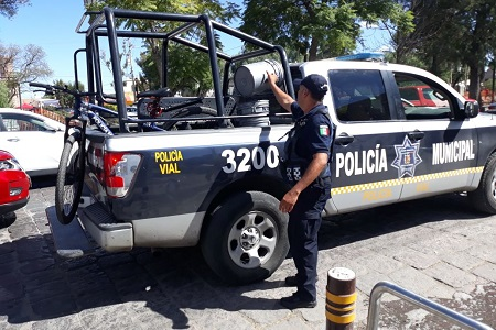 La DGSPM aplicó el Operativo Barredora en la Calzada de Guadalupe