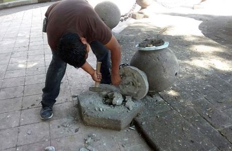 Tras actos vandálicos, Ayuntamiento realizó reparaciones en Jardín de Tequis