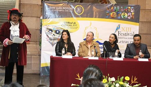 Este miércoles inicia el XIII Festival Internacional de Letras en San Luis
